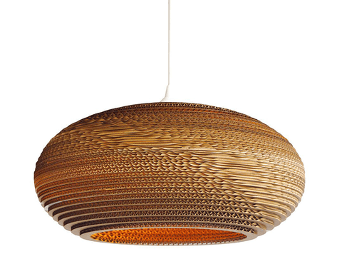 Graypants Disc Pendant Lamp - 16 inch - Archer + Co