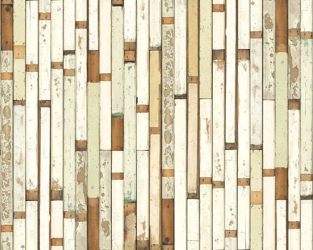 Scrapwood Wallpaper by Piet Hein Eek -  PHE-01 - Archer + Co
