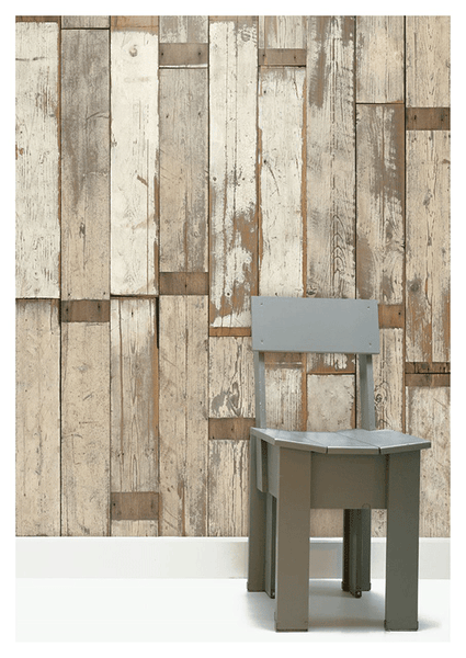 Scrapwood Wallpaper by Piet Hein Eek - PHE-02 - Archer + Co