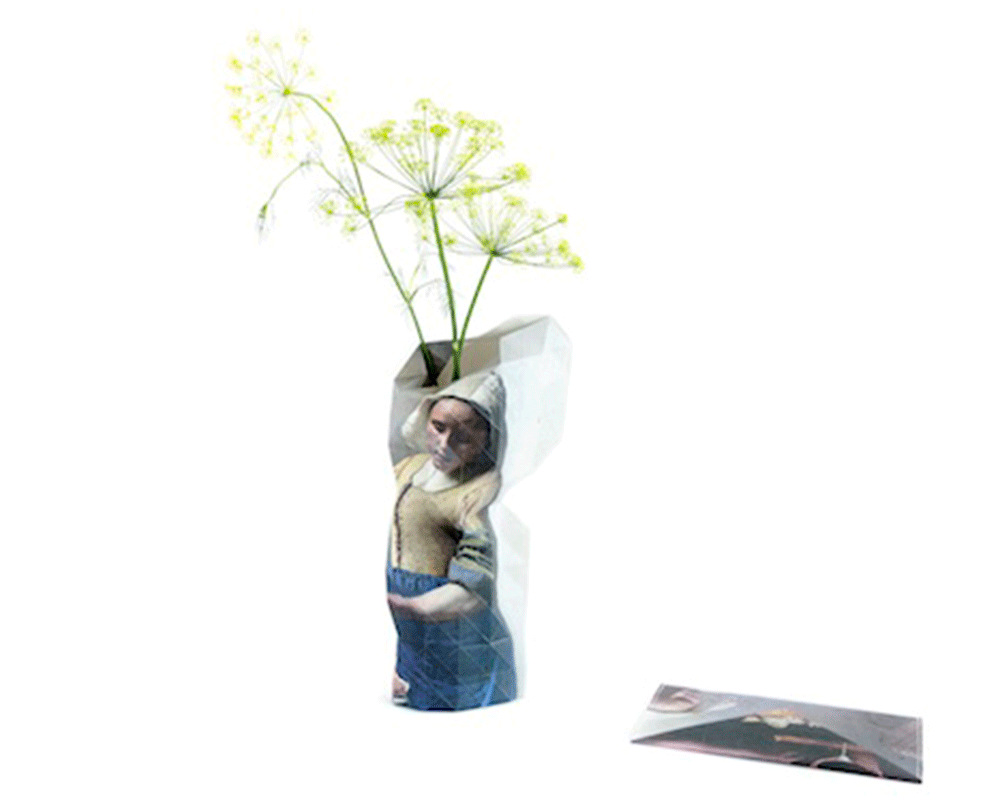 Paper Vase Cover - vermeer - Archer + Co