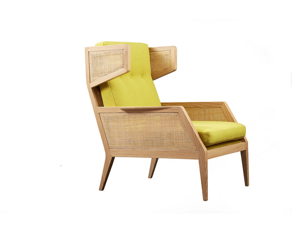 Raffa Wing Chair - Archer + Co