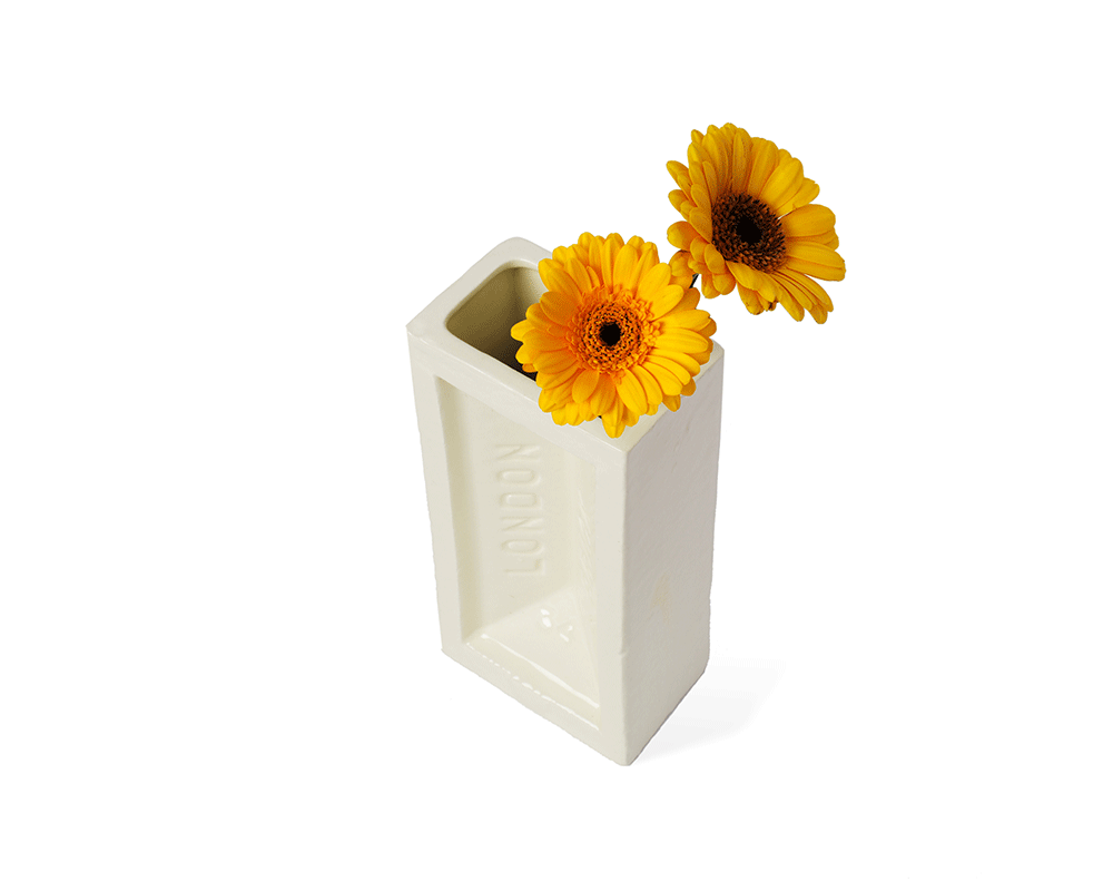 Stolen Form Brick Vase - Archer + Co