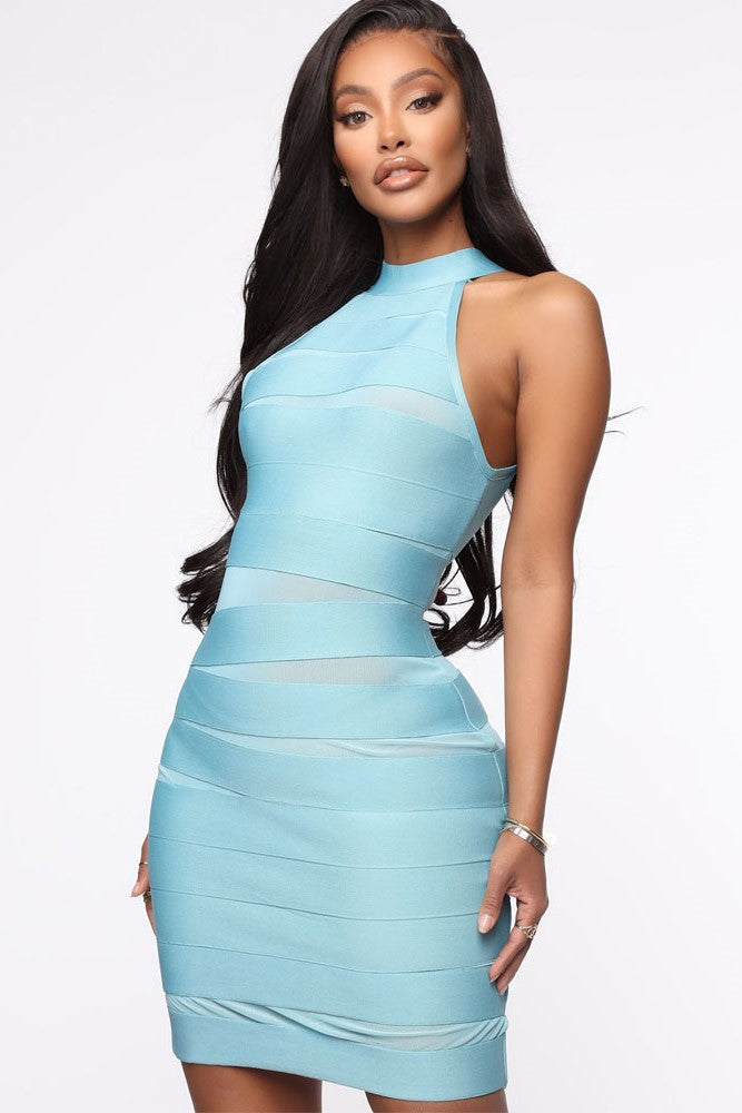 Uhren Bandage Dress