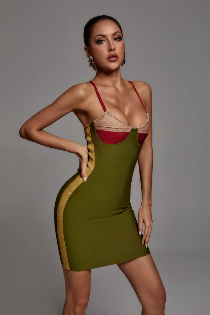 Amelia Mini Bandage Dress