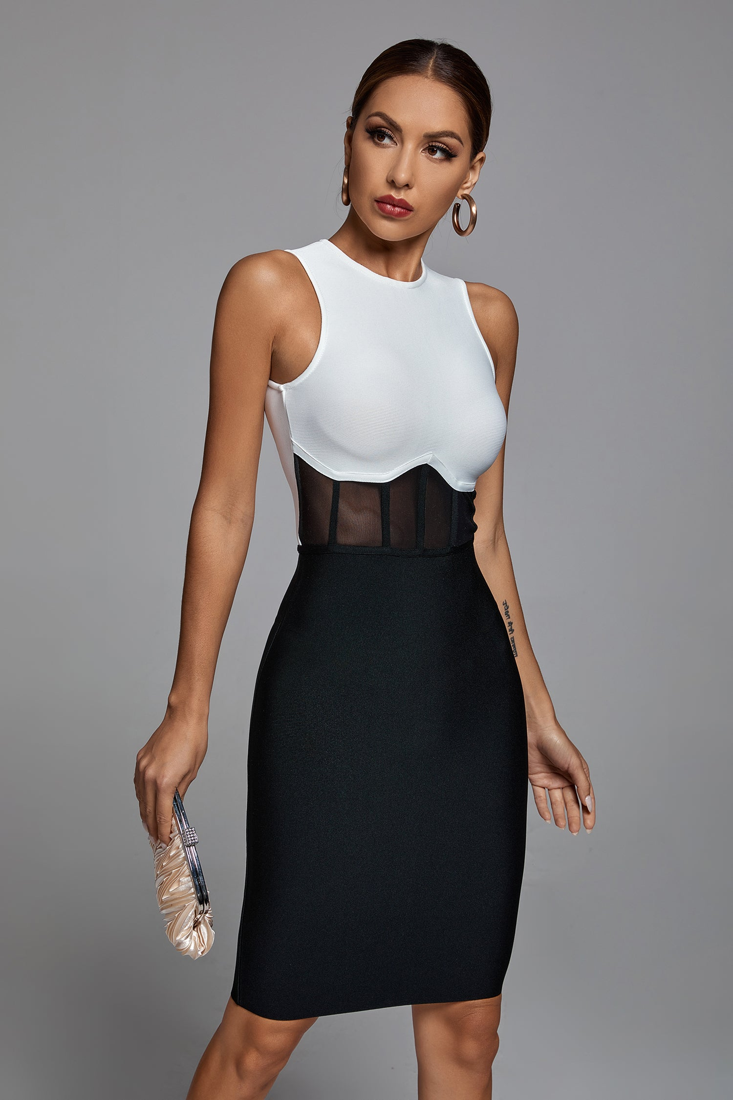 Vertly Mini Bandage Dress