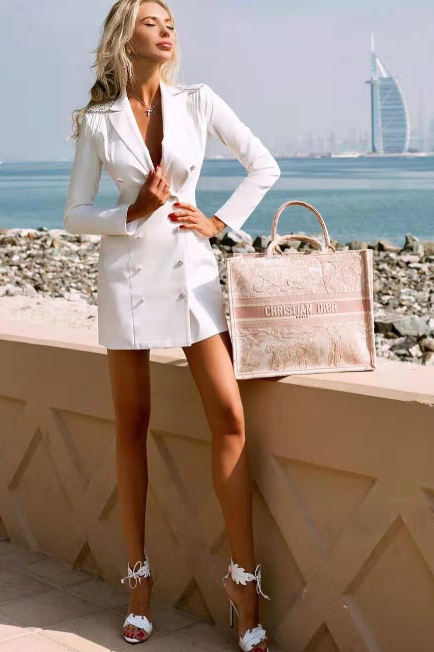 Barnaby White Blazer Dress