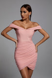 Echo Blush Bandage Dress