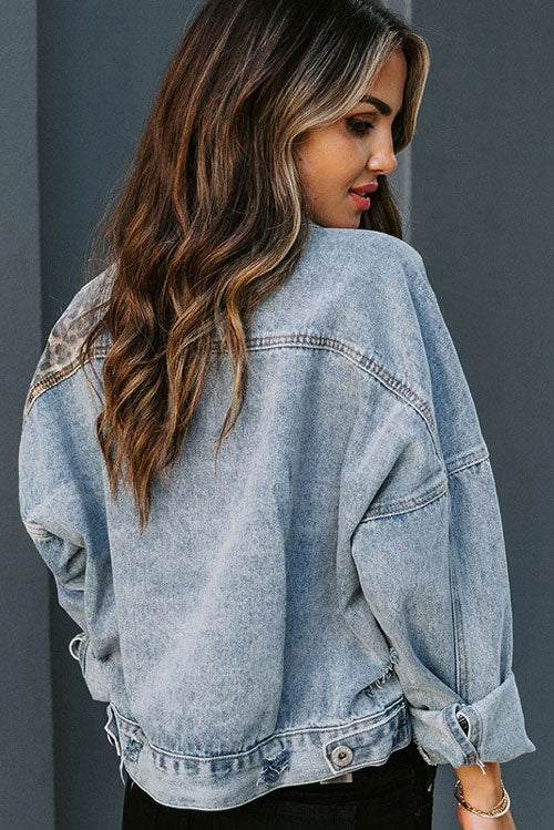 Patchwork Denim Top -- Bellabarnett