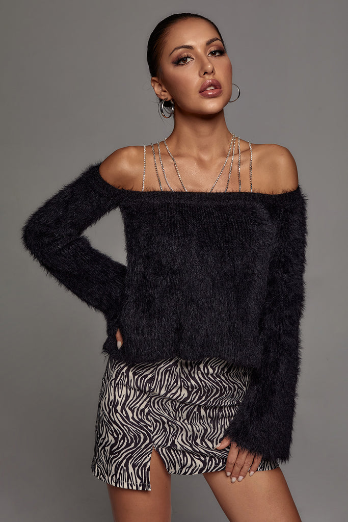 Pelmet Embellished Sweater -- Bellabarnett