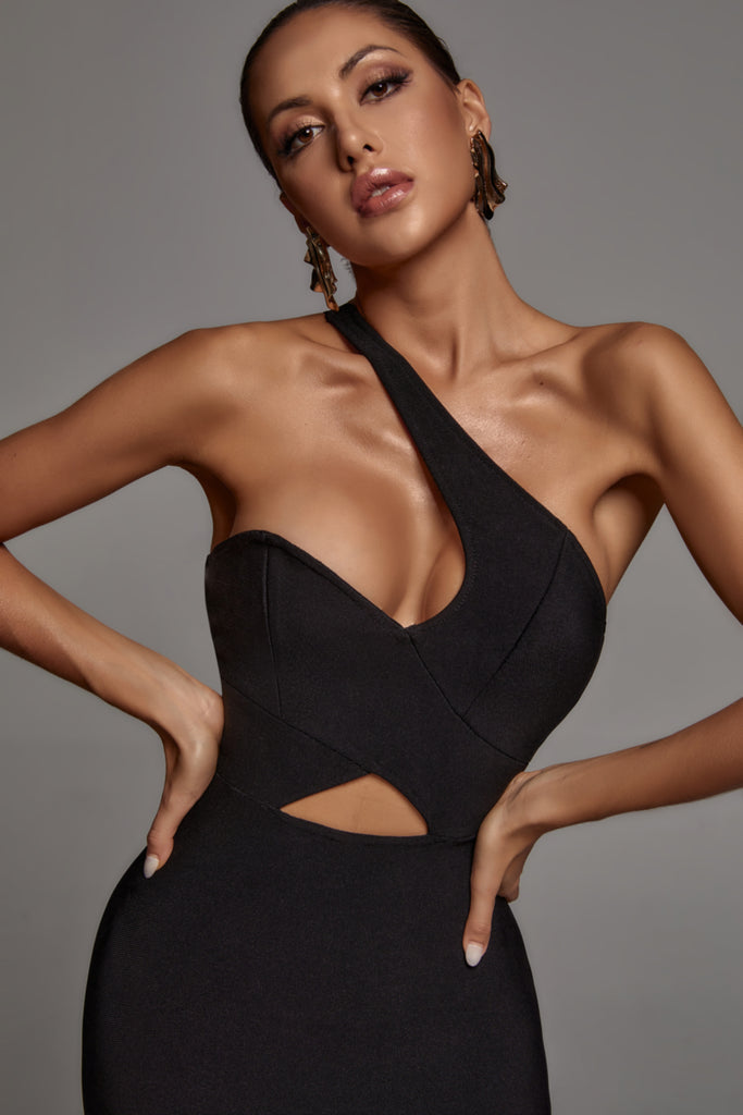 Riley One Shoulder Bandage Dress