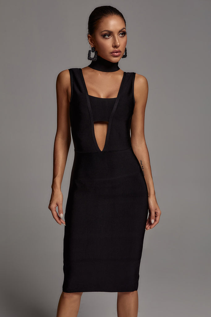 Salita Cut Out Bandage Dress -- Bellabarnett