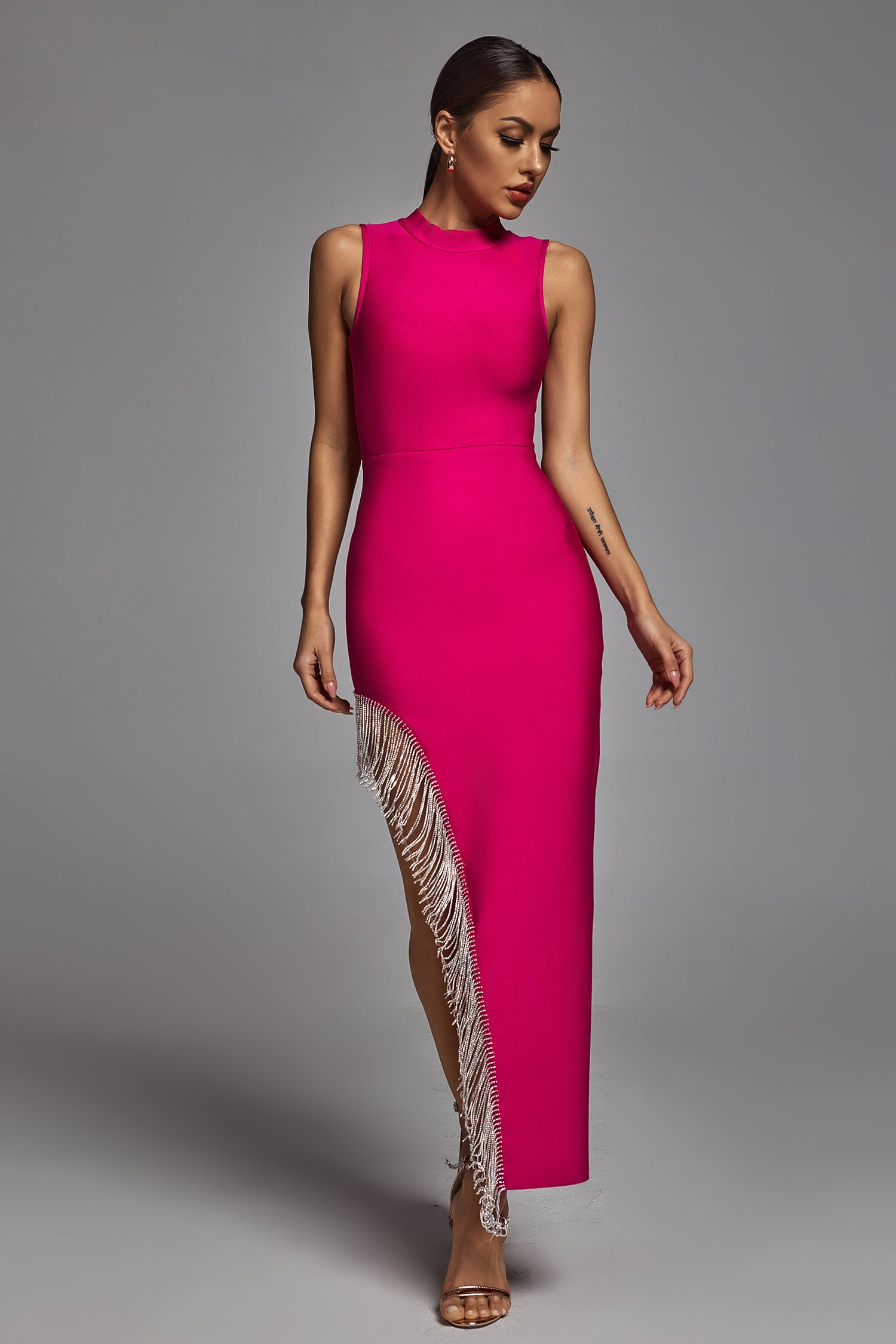 Senga Embellished Maxi Dress -- Bellabarnett