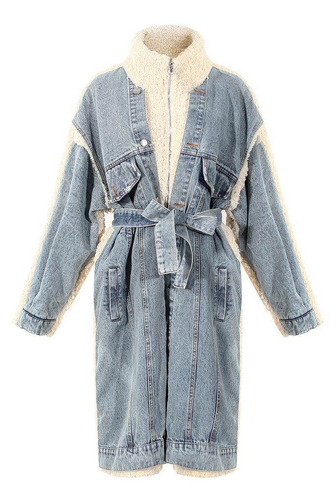 Tabitha Denim Coat -- Bellabarnett