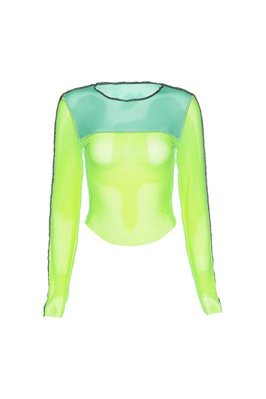 η Top -Neon Green- Bellabarnett