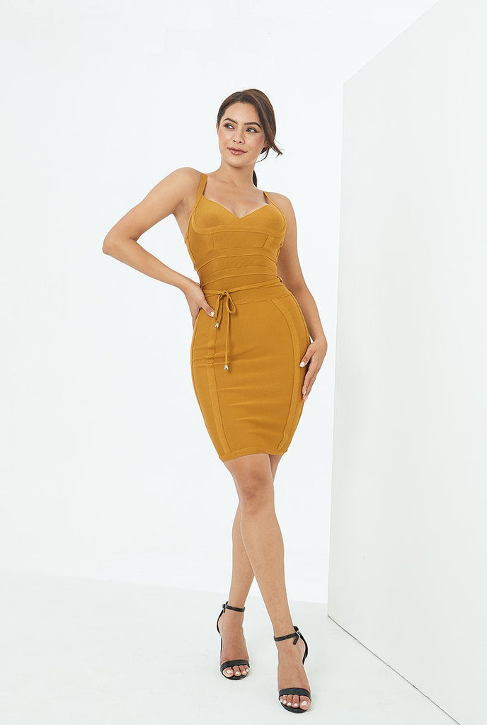 Stella Dress - Ginger -- Bellabarnett