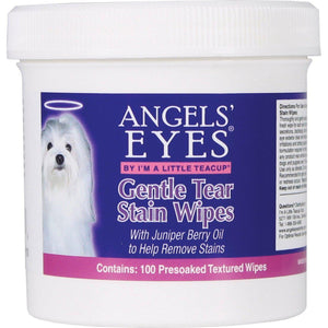 Angels' Eyes Gentle Tear Stain Wipes For Dogs-Health Care-The Classic Pooch