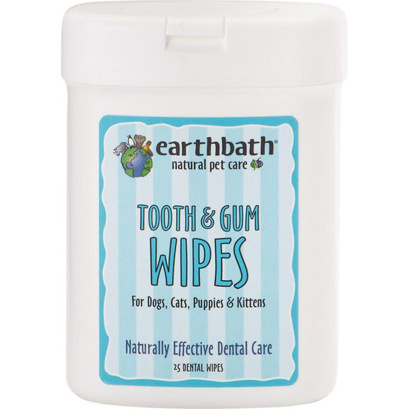 Earthbath Tooth/gum Wipes-Health Care-The Classic Pooch