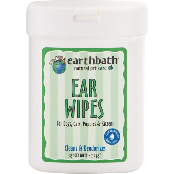 Earthbath Ear Wipes-Health Care-The Classic Pooch
