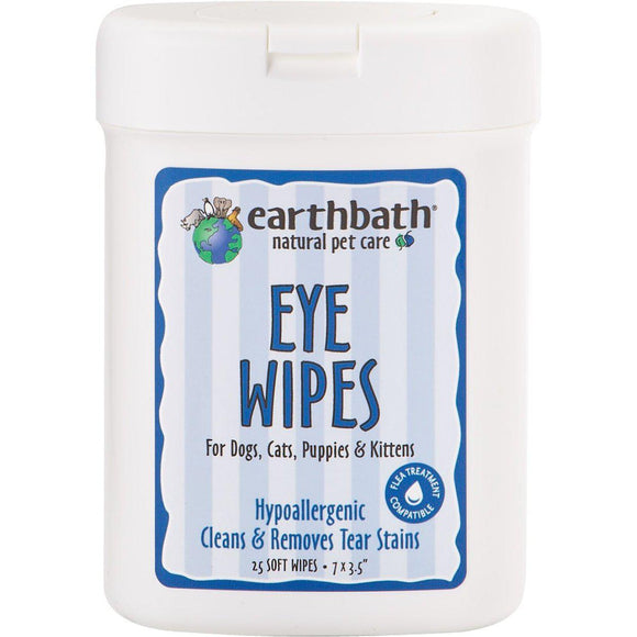 Earthbath Hypoallergenic Eye Wipes-Health Care-The Classic Pooch