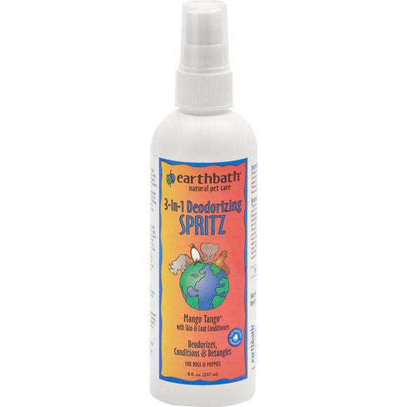 Earthbath 3 In 1 Deoderizing Spritz/conditioner-Grooming-The Classic Pooch