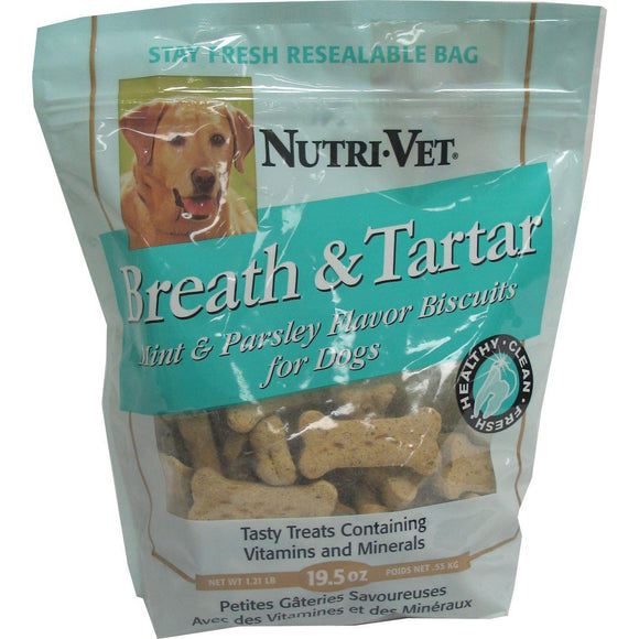 Breath & Tartar Biscuits-Health Care-The Classic Pooch