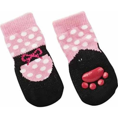 Ballet Slipper Socks-Apparel-Fashion Pet-Small-The Classic Pooch