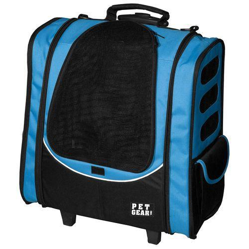 I-GO2 Escort Roller-Backpack-Carriers-Pet Gear-Ocean Blue-The Classic Pooch