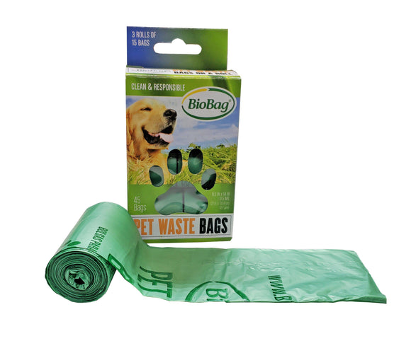 BioBag Compostable Waste Bag Rolls - Retail-Potty Time-BioBag-The Classic Pooch