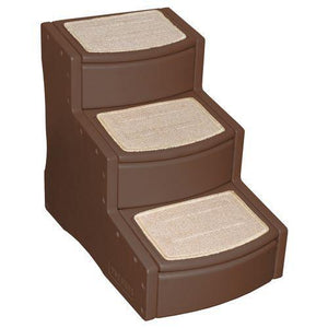 Easy Step III Pet Stairs-Stairs & Ramps-Pet Gear-Chocolate-The Classic Pooch