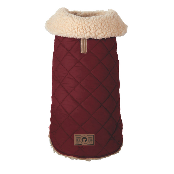 Quilted Shearling Coat-Apparel-The Classic Pooch