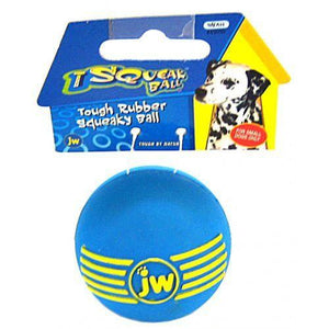 JW Pet iSqueak Ball - Rubber Dog Toy-Toys-JW Pet-Small-The Classic Pooch
