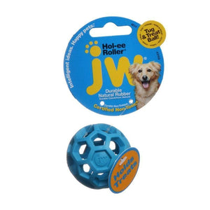 JW Pet Hol-ee Roller Rubber Dog Toy - Assorted-Toys-JW Pet-Mini-The Classic Pooch