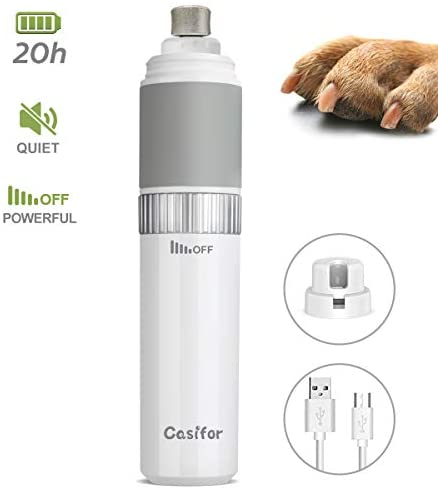 Casifor Dog Nail Grinder-Grooming-Casifor-White-The Classic Pooch