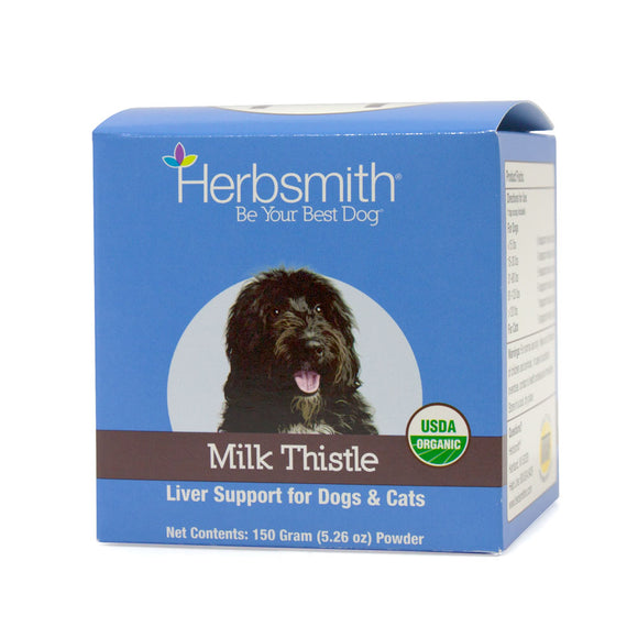 Milk Thistle - Liver Support for Dogs-Supplements-Herbsmith Inc.-150g-The Classic Pooch