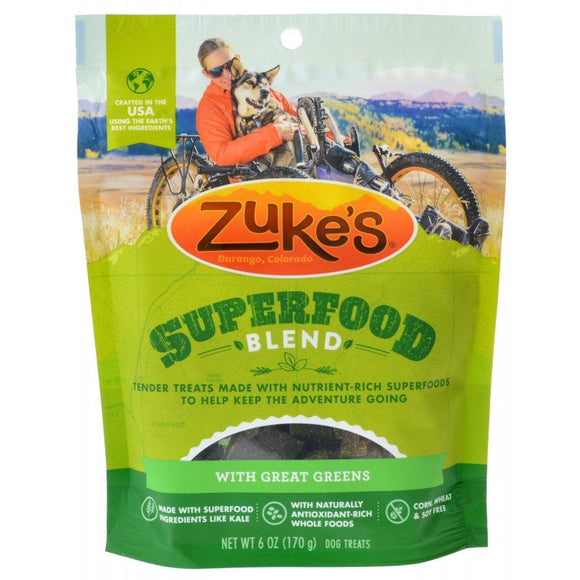 Zukes Superfood Blend with Great Greens-Dog Treat-The Classic Pooch