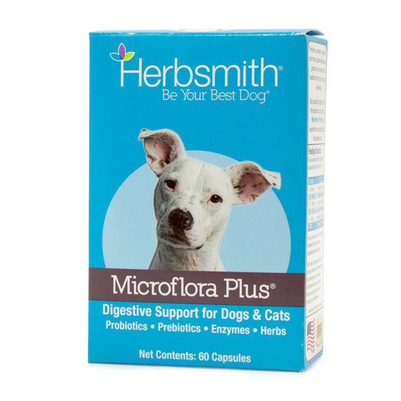 Herbsmith Microflora Plus-Supplements-Herbsmith Inc.-30 ct Blister-The Classic Pooch