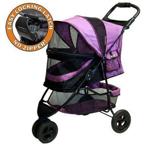 No-Zip Special Edition Stroller-Strollers-Pet Gear-Orchid-The Classic Pooch
