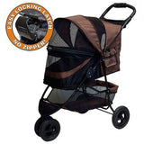 No-Zip Special Edition Stroller-Strollers-Pet Gear-Chocolate-The Classic Pooch