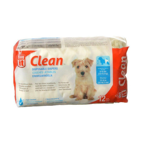 Dog It Clean Disposable Diapers-Potty Time-The Classic Pooch