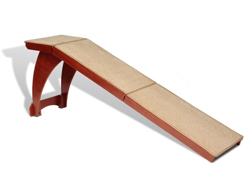 Bedside Wood Pet Ramp-Stairs & Ramps-Solvit-The Classic Pooch