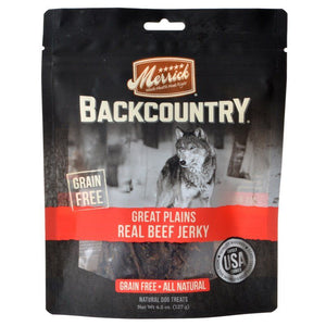 Merrick Backcountry Great Plains Real Beef Jerky-Dog Treat-The Classic Pooch