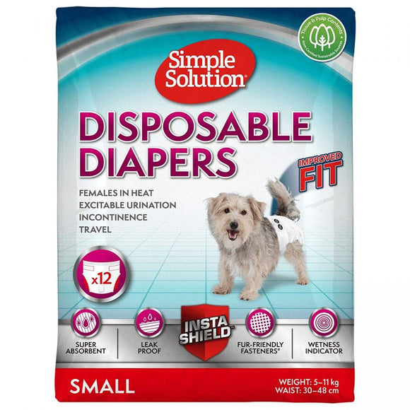 Simple Solution Disposable Diapers-Potty Time-The Classic Pooch