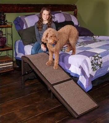 Free-Standing Extra Wide Carpeted Pet Ramp-Stairs & Ramps-Pet Gear-The Classic Pooch