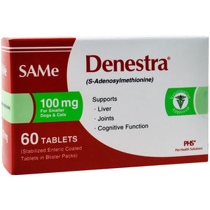 Denestra (SAMe) Tabs (60 Tablets)-Supplements-Pet Health Solutions-200mg-The Classic Pooch