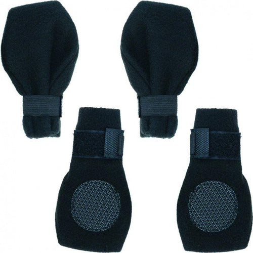 Fashion Pet Arctic Fleece Dog Boots - Black-Boots-The Classic Pooch