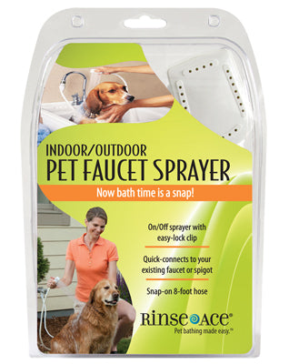 Rinse Ace Indoor and Outdoor Pet Shower Sprayer-Grooming-Rinse Ace-The Classic Pooch