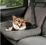 Solvit Car Cuddler Seat-Car Accessories-PetSafe - Solvit-Gray-Small-The Classic Pooch