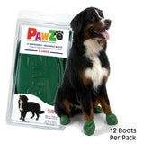 Pawz Natural Rubber Waterproof Dog Boots, 12 Ct-Boots-The Classic Pooch