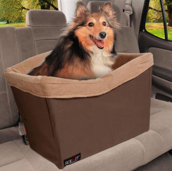 The Jumbo Standard On-Seat Pet Booster-Car Accessories-PetSafe - Solvit-The Classic Pooch