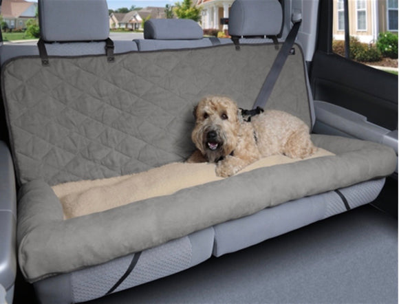 Solvit Car Cuddler Seat-Car Accessories-PetSafe - Solvit-Gray-Large-The Classic Pooch